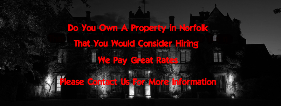 Hire a venue for Paranormal Investigation