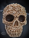 "<img src=Skull Gift.jpg"" alt=""Skull Ornament Finished in Bone Colour Featuring Nut and Bolt Design"">"